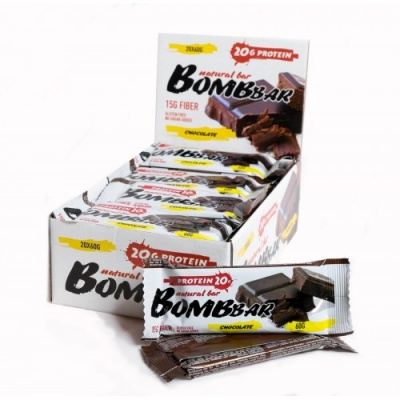Батончик Natural Bar Bombbar 60г
